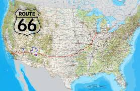 Map Of Route 66 by Route66 Images Reverse Search