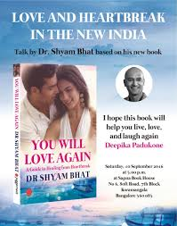 Live Love And Laugh by You Will Love Again Dr Shyam Bhat U0027s New Book Has A Foreword By