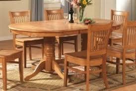 Oval Dining Room Table Sets Foter - Oak dining room set