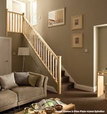 Stairwell Banister Stair Banister Kits Complete Stair Balustrade Set By Cheshire