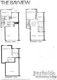 split floor house plans house plans canada back split floor pinterest 5 level