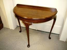 Side Table Diy Half Round Side Table Half Moon Glass Side Table