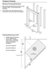 Fireplace Insert Dimensions by 42 Apex Wood Fireplace Fireplace Xtrordinair