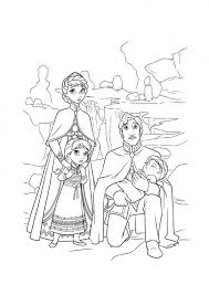 snowman family coloring free
