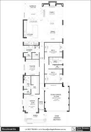 narrow home floor plans plans home plans for small lots