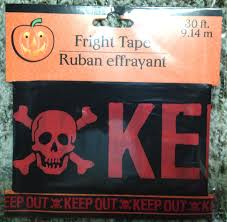 gothic horror sign keep out halloween prop decoration haunted