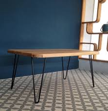Hairpin Leg Console Table Ruby Coffee Table With Hairpin Legs By Renn Uk