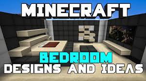 Minecraft Interior Design by Minecraft Bedroom Designs U0026 Ideas Youtube