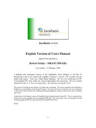 zara radio user manual icon computing computer file