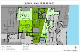 Kenosha Wisconsin Map by District 4 City Of Kenosha