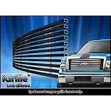ford truck grilles amazon com aps f66789h black powder coated aluminum billet grille