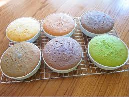 homemade rainbow cake natural food dye inhabitots