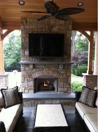 covered patio with fireplace outside fireplace ideas dosgildas com