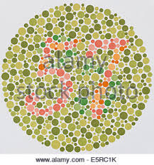 Tests For Color Blindness Ishihara Color Vision Test Plates Used For Color Blindness
