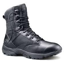 timberland pro valor duty 6 ct wp side zip men black smooth