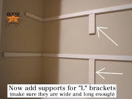 Build Closet Shelves by How To Install Shelves In A Closet