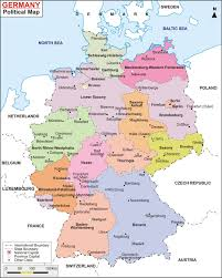 map germany map of central germany major tourist attractions maps
