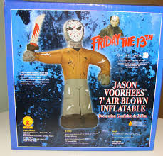 giant 7 foot jason friday the 13th air blown halloween inflatable