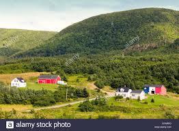 Farm Houses Farm Houses And Barns In Cheticamp Cape Breton Nova Scotia