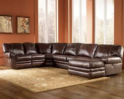 Sectional Sofa With Sleeper And Recliner Leather Sectional Sofa With Recliner And Bed Catosfera Net