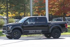 Ford Raptor Crew Cab - 2017 ford f 150 raptor supercrew peeks out from behind the