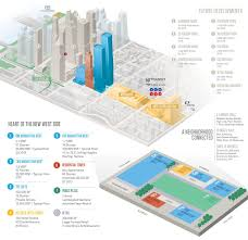 Map Of Manhattan Neighborhoods Supertall One Manhattan West Now Above Ground New York Yimby