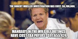 Man Baby Meme - the robert mueller investigation has cost 6 700 000 manbaby in