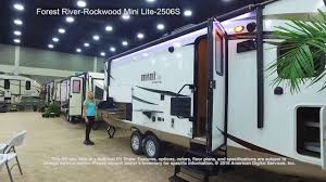 rockwood trailers floor plans forest river rockwood mini lite 2506s youtube
