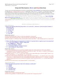 200525160 nbde part i biochem review and study guide