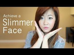 hairstyle for fat chinese face how to get a slimmer face youtube