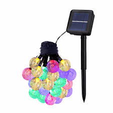 Solar Powered Outdoor Fairy Lights by Online Buy Wholesale Crystal Fairy Lights From China Crystal Fairy
