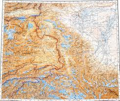Tajikistan Map Wakhan Corridor 1 1000000 Russian Military Map Http Download