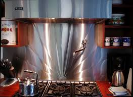 stainless steel backsplashes for kitchens stainless steel backsplashes custom