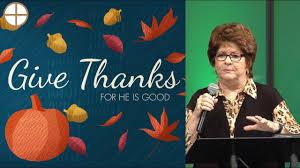 the power released in thanksgiving pastor jean pidgeon