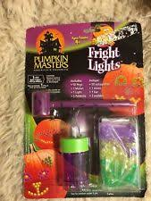 halloween pumpkin masters kids fright lights decorating kit ebay