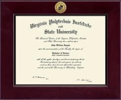 virginia tech diploma frame virginia tech hokies diploma frame century engraved gold cordova 222518