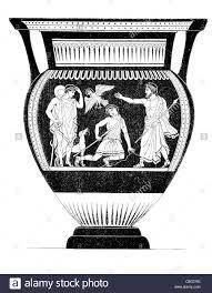 Greek Black Figure Vase Painting Etruscan Black Figure Vase Painting7th 4th Bc Greek Etruscans