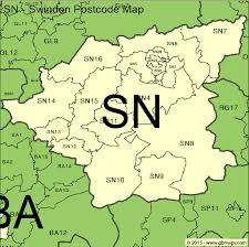 map uk bath swindon postcode area and district maps in editable format