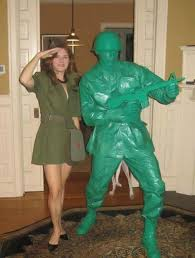 Toy Soldier Halloween Costume Lady Soldiers Strange Size Toy Soldiers