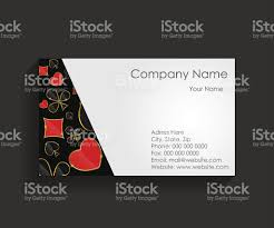 template for business card vector illustration stock vector art
