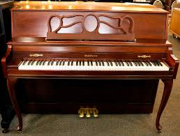 Baldwin Piano Bench - used baldwin queen anne console piano cherry alamo music