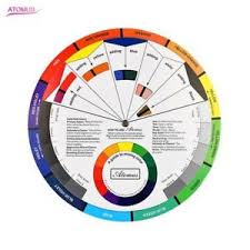 artist oil acrylic pocket colour wheel paint mixing guide painting