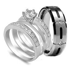 cheap matching wedding bands ring wedding band set groom pleasing matching wedding rings