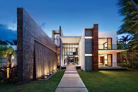 Modern Miami Home Design Ocean Home October November 2016