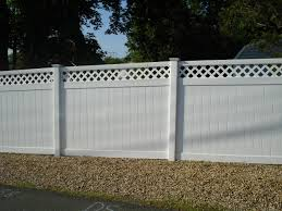 White Backyard Fence - front yard fence designs inovatics com white vinyl privacy cool