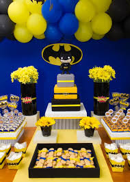 batman baby shower decorations batman boy 3rd birthday party planning ideas decorations