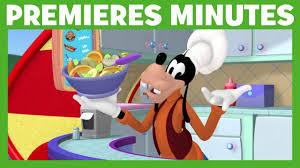 jeux de cuisine de mickey la maison de mickey premières minutes chef dingo à gogo