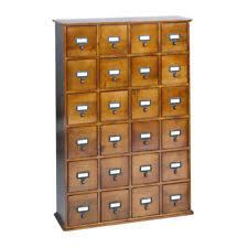 24 Drawer Storage Cabinet by Cd Storage Drawer Ebay