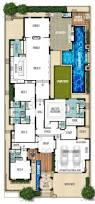 stunning design bi level house plans narrow lot 4 plan 2080 home act