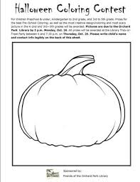 halloween blank pumpkin coloring contest 2015 picture jpg